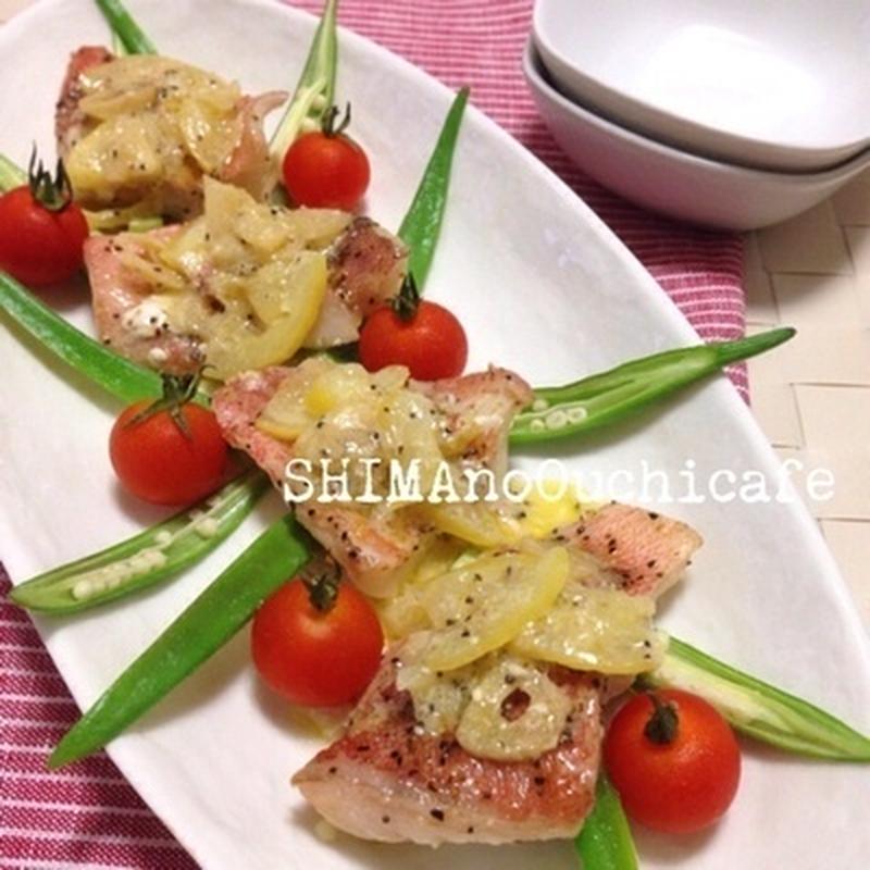面倒な魚料理を楽チンに♪フライパン1つで美味しい赤魚のレシピ