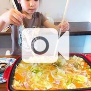 和風スパゲッティーを作りました!!