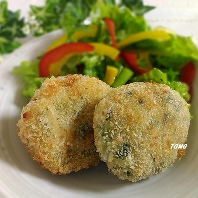 お野菜いっぱい!ブロッコリーのコロッケ~カレー風味~