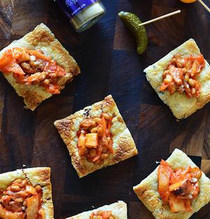 ヨーグルトキムチ納豆の油揚げピザ 簡単 節約 5分 子どもおやつ大人つまみ