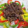 花椒肉みそのパリパリサラダ