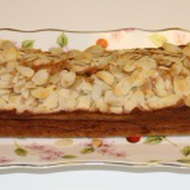 全粒粉でしっとりバナナケーキ(バターと砂糖控えめ)