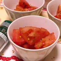 トマトのフレンチハーブマリネ~スパイス大使
