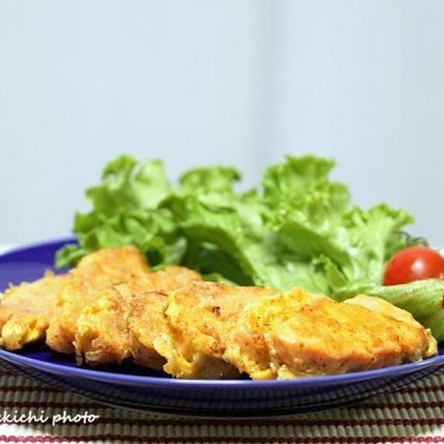 サーモンの美味しい季節「ふんわりサーモンのピカタ」&超シンプルカップ麺「きつねうどん」