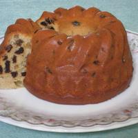ただ混ぜて焼くだけのカリフォルニア農産物のクグロフ(焼き菓子)を焼いてみました。