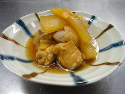 今日は食感☆Bネタコラボ!好き嫌いを克服した食べ物は?・鶏肉と大根のサッと煮