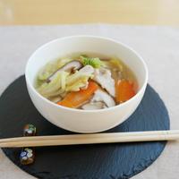 具沢山ごちそうスープ♪ 野菜たっぷり実も心も温まる~