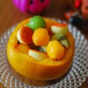 メース香る♪柿とキウイで秋のフルーツサラダ