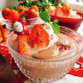 チョコなしチョコレート風!レアチーズスープ(動画有) by Misuzuさん