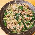もやしとニラの豚肉中華炒め、お箸が進む美味しい簡単メイン料理。 by 管理栄養士らいすさん