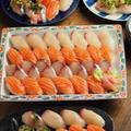 おうちにぎり寿司、自宅でのにぎり寿司の作り方 by 筋肉料理人さん