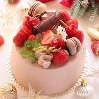 ガトー オ ショコラ フレーズ~クリスマスケーキ2016
