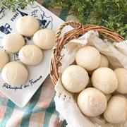 シンプル丸パン☆お芋のジャム♪