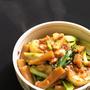 【ローソンの太切りメンマレシピ】かぶとメンマの味噌炒め