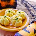 ホットケーキミックスHMで簡単お菓子♪かぼちゃのメロンパン風ソフトクッキー♥ハロウィンに