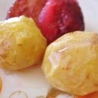 栗のブランデー甘露煮&プルーンのシャーベット(レシピブログ)