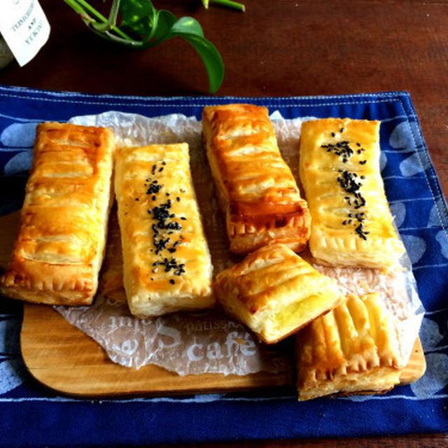 【簡単!!お菓子】トースターでも!スイートポテトパイ(冷凍パイシートで)