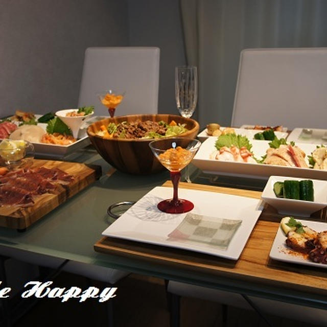 スペイン料理でおもてなし♪