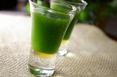 青汁林檎ジュース