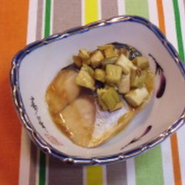お野菜たっぷりのさばの味噌煮