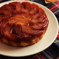 紅玉のタルトタタン風ケーキ