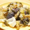 【レシピ】ナスがあったら「ナスのニンニク炒め」。塩、こしょう、鶏ガラスープで味付け