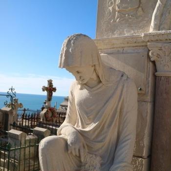 野外デッサン教室 セートの眺めのいい墓地 le cimetière marin