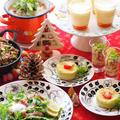 クリスマスパーティ クスクスのサラダレシピ