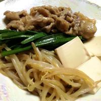 豚ばら肉とニラの味含み煮
