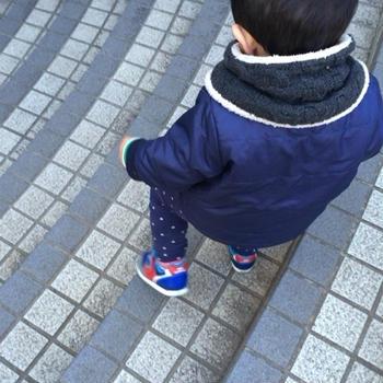 1歳9ヶ月 階段は一人で‼︎