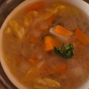 冬野菜の甘みたっぷり滋養スープ