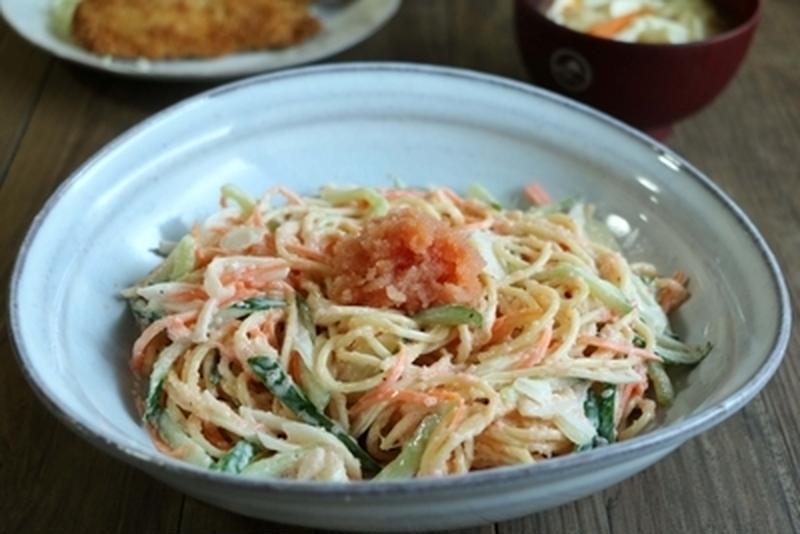 あと一品を簡単に!お手軽サラダスパゲティ