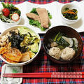 こんにちは*#美肌丼先日のお昼ごはん『アボカドキム納豆丼』アボカド+キムチ+納豆...