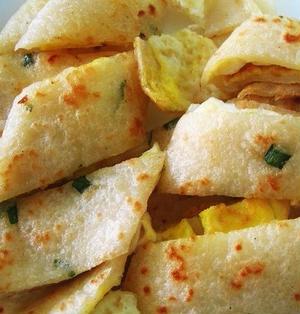 蛋餅│台湾卵焼き