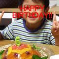 息子のお誕生日。(簡単な作り方など説明あり) by かんざきあつこ(a-ko)さん