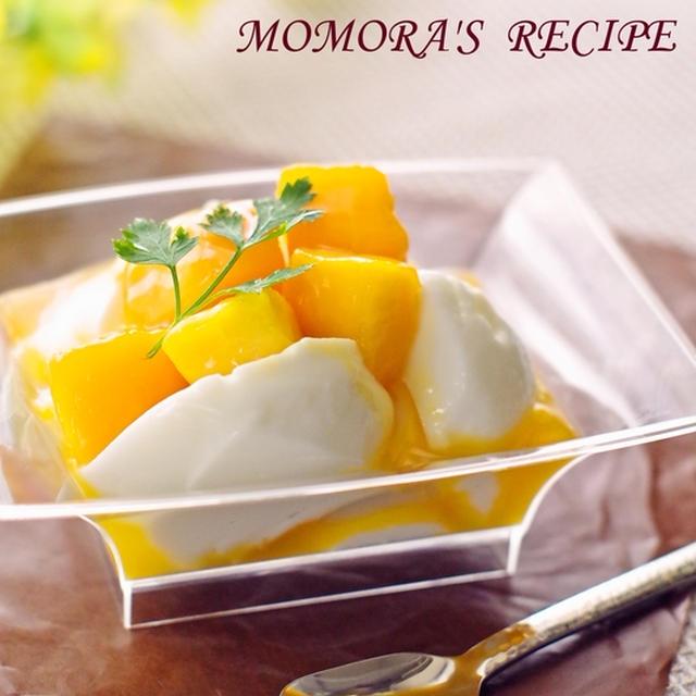 夏休みに水切りヨーグルトで簡単冷たいお菓子レアチーズケーキ風♡楽天レシピ公式アンバサダーに。