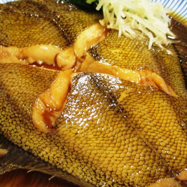 カレイの生姜煮<うま味と上品な味わい>