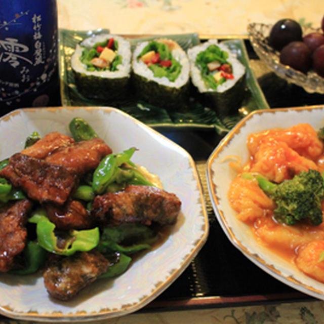 スパークリング清酒「澪」de揚げ鯖の中華炒め