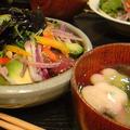 マグロヅケ丼。晩ごはん by いっちゃん♪さん