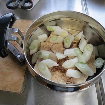 冬の煮込み肉豆腐♪