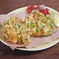 食感2倍のザク旨!枝豆と海老のかき揚げのコツある作り方 by KOICHIさん