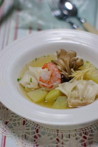 """ぽかぽかショウガ・スープ、""""ティノラ"""""""