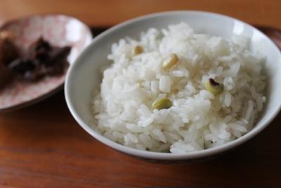 BlackEyedPea・黒目豆の炊き込みご飯