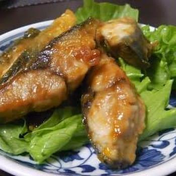 鯖のケチャップ煮。