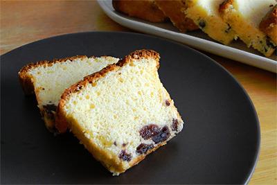 大人の米粉パウンドケーキ