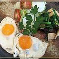 旬野菜+GABANセボリ―+試作パンで春を感じる朝食~♪♪ by pentaさん