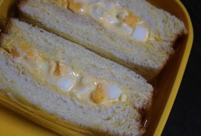 10月7日  クリームブレッドの マヨ玉サンド