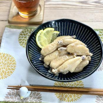 【レシピ】ラクラク♪手羽中の旨塩煮~今日作って明日も美味しい~