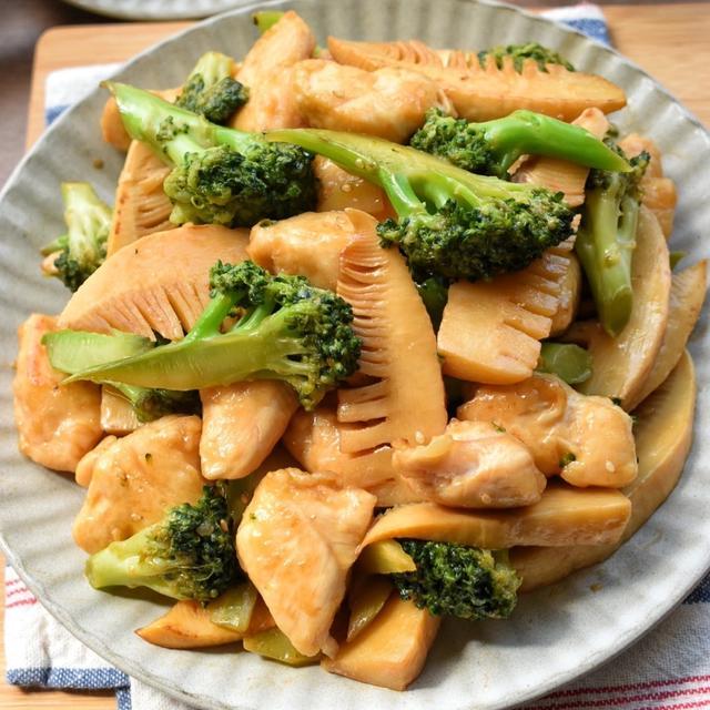 【2品弁当】♡ササミんレシピ♡ササミとブロッコリーの青椒肉絲風♡レシピあり♡