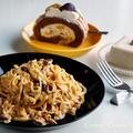 練りウニで簡単美味しい♪ ウニのクリームスパゲッティ